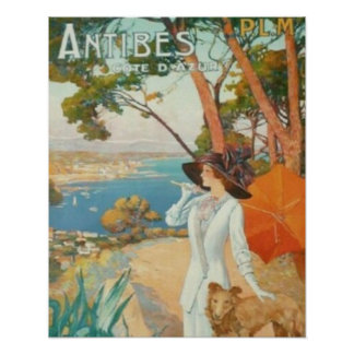 Antibes French Riviera Poster