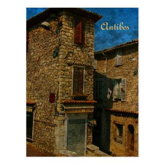 Antibes postcard