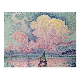 Antibes, the Pink Cloud, 1916 Postcard