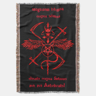 Antichrist Symbol Wall Hanging Tapestry