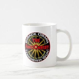 AntiChristObamaDefeat Mugs