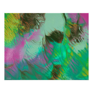 Anticipate - Abstract Painting Poster