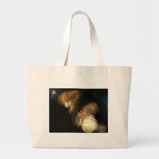 Anticipation is making me hungry large tote bag