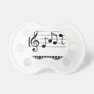 Antidepressant Music Baby Pacifiers