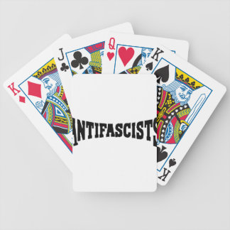 AntiFascists Bicycle Playing Cards