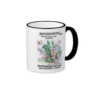 Antigonon Mexican Coral, Huth Seed Co Coffee Mugs