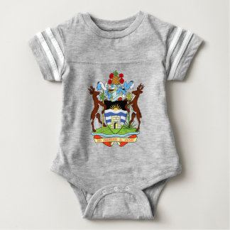 Antigua and Barbados National Seal Baby Bodysuit