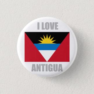 Antigua And Barbuda 3 Cm Round Badge