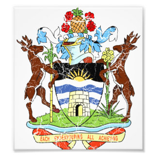 Antigua And Barbuda Coat Of Arms Photo