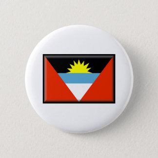 Antigua and Barbuda Flag 6 Cm Round Badge