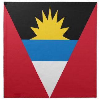 Antigua and Barbuda Flag Napkin