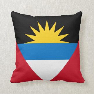 Antigua and Barbuda Flag pillow