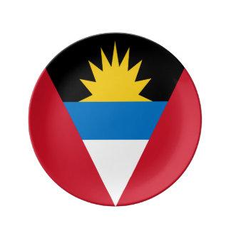 Antigua and Barbuda Flag Plate