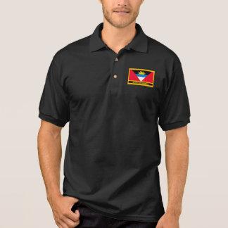 Antigua And Barbuda Flag Polo Shirt