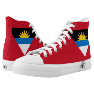 Antigua and Barbuda Flag Printed Shoes