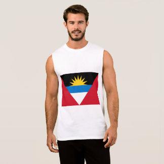 Antigua and Barbuda Flag Sleeveless Shirt