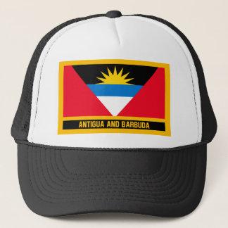 Antigua And Barbuda Flag Trucker Hat