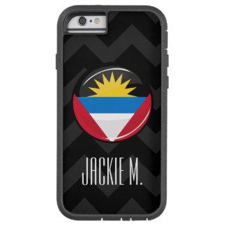 Antigua and Barbuda Round Flag Tough Xtreme iPhone 6 Case
