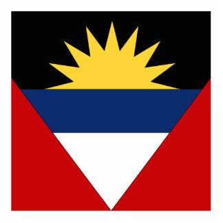 Antigua and Barbuda Standing Photo Sculpture