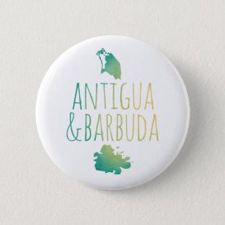 Antigua & Barbuda 6 Cm Round Badge