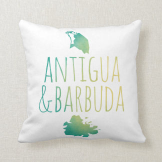 Antigua & Barbuda Cushion