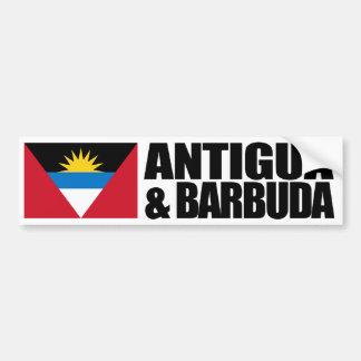 Antigua & Barbuda Flag Bumper Sticker