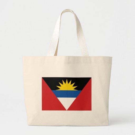 Antigua Barbuda National Flag Canvas Bag