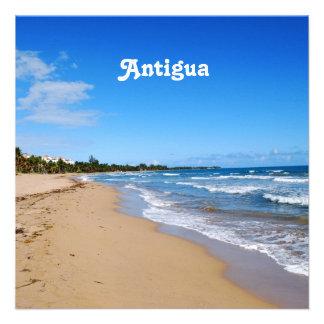 Antigua Beach Personalized Invitations