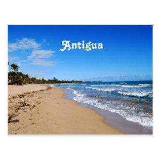 Antigua Beach Postcard