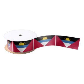 Antigua Flag Satin Ribbon