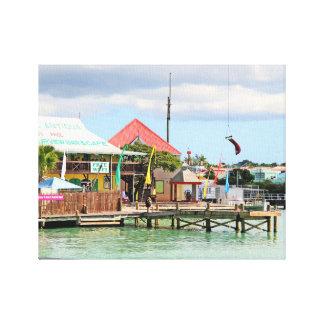 Antigua, Island in the Caribbean Canvas Print