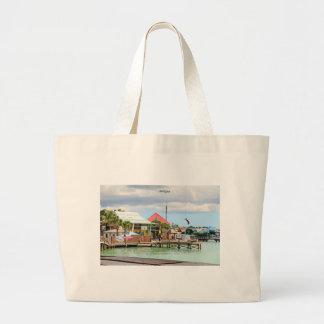 Antigua, Island in the Caribbean Large Tote Bag