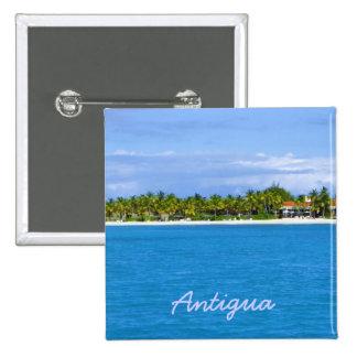 Antigua Island Pin