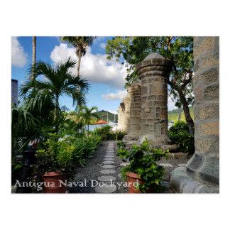 Antigua - Nelson Dockyard Postcard