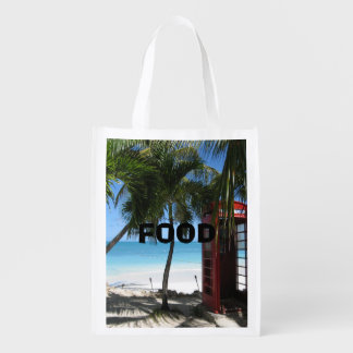 Antigua Phone box Reusable Grocery Bag