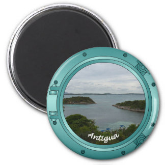 Antigua Porthole Magnet