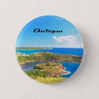 Antigua Sailboat races 6 Cm Round Badge
