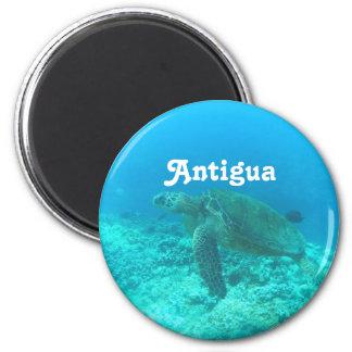 Antigua Scuba Diving 6 Cm Round Magnet