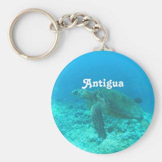 Antigua Scuba Diving Keychains