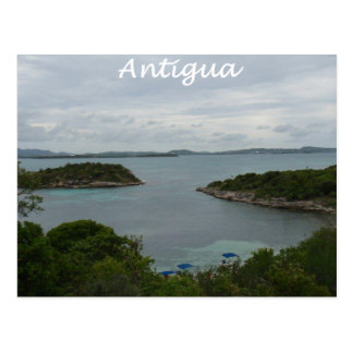 Antigua View Postcard