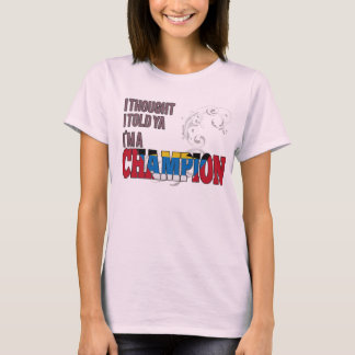 Antiguan and a Champion T-Shirt