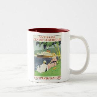 Antilles Centre-Amerique Two-Tone Mug