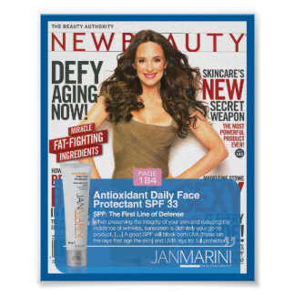 Antioxidant Daily Face Protectant - NewBeauty Poster