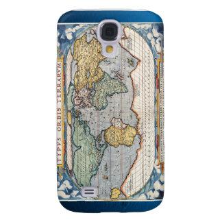 Antique 16th Century World Map Galaxy S4 Case