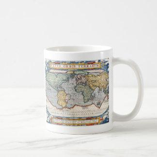 Antique 16th Century World Map Coffee Mug