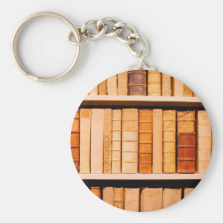 Antique 17th Century Leather Binding Books Key Ring