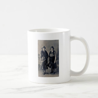 Antique 1920s Women in Gypsy Costumes Coffee Mugs