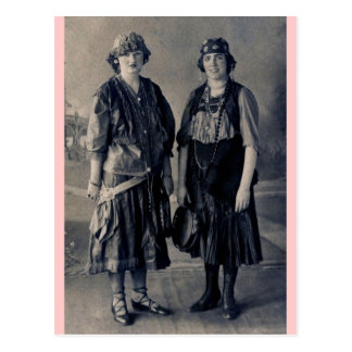 Antique 1920s Women in Gypsy Costumes Post Cards
