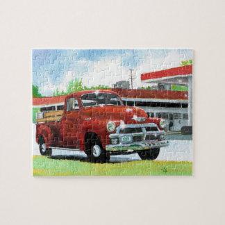Antique 1954 Chevrolet Truck Puzzles