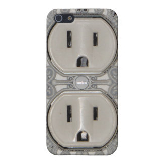 Antique A/C Outlet iPhone Case Covers For iPhone 5